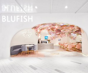 SODA  Designs Blufish Restaurant in Beijing