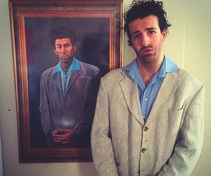 Guy Imitating Celebrities' Poses in Posters