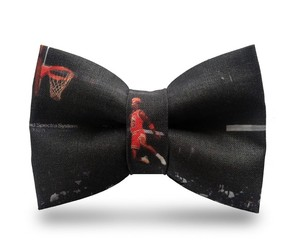 """Birties"" – Michael Jordan Printed Cotton Bow Ties"