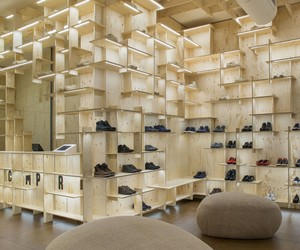 Camper Together Store Milan by Kengo Kuma