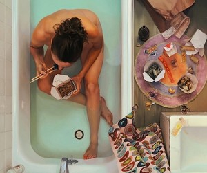 Hyperrealistic Oil Paintings of Women & Food