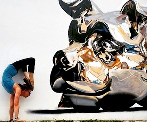 Awesome Yoga Poses & Street Art by Soren Buchanan