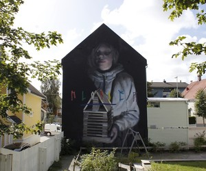 New Murals at the Nuart-Festival in Norway