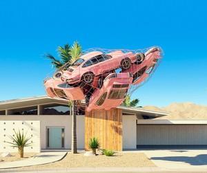 Classic Porsches in Surreal Scenarios