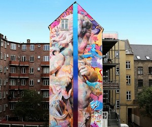 """Love Desire"" – Mural by Street Artists PichiAvo"