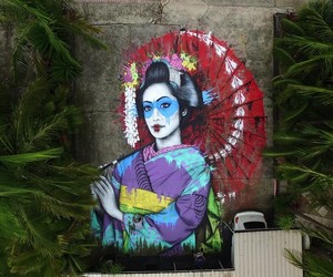 New Ground-Mural by Street Artist Fin DAC