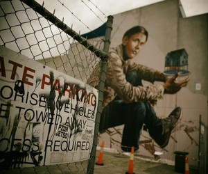 The Refugee - New  Gigantic Mural by Fintan Magee
