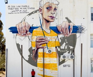 New Large Mural by HERAKUT in Amman // Jordan
