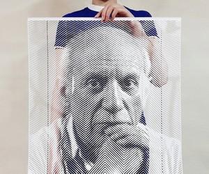 Hyperrealistic Hand-Cut Paper Portraits