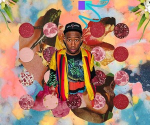 Psychedelic Digital Collages of  Hip Hop Artists