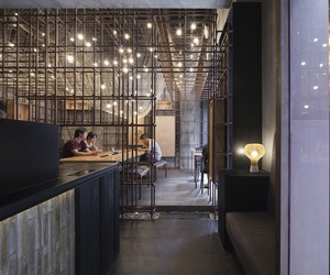 The Noodle Rack Restaurant by Lukstudio
