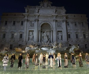 FENDI LEGENDS AND FAIRY TALES AT FONTANA DI TREVI