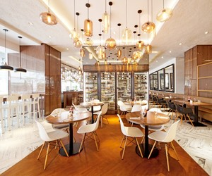 Element Café at Amara Hotel by designphase dba