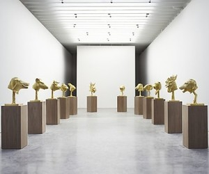 Ai Weiwei - Zodiac heads exhibition
