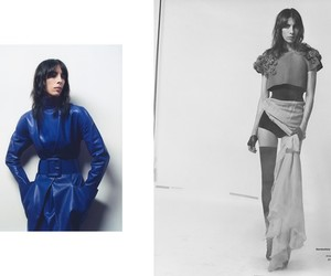 Jamie Bochert in Haute Couture by Laetitia Negre