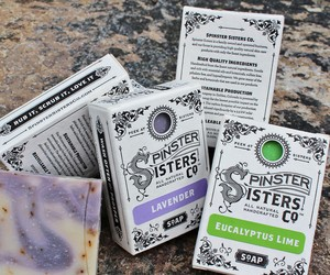 SPINSTER SISTERS CO. SOAP BAR