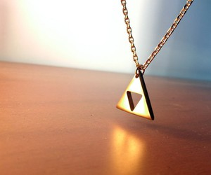 18k Gold Plated Triforce Necklace
