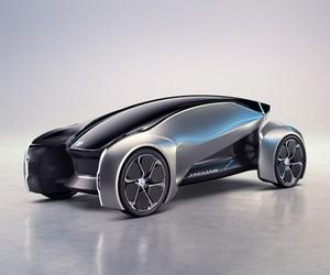 Jaguar Unveils Autonomous Future-Type Concept Car