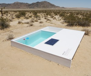 Social Pool in the Desert by Alfredo Barsuglia