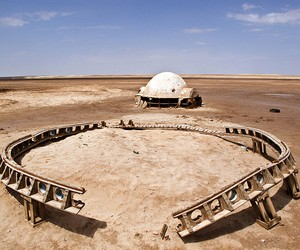 Abandoned Star Wars Movie Set series