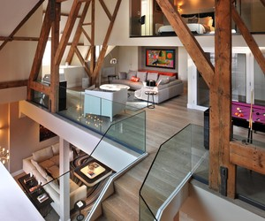 St Pancras Penthouse Apartment by Thomas Griem