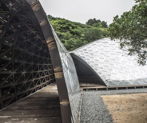 SUTD Library Pavilion by City Form Lab
