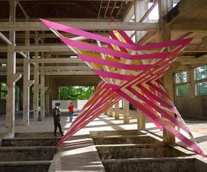 Pop It Up installation by Anya Sirota + AKOAKI