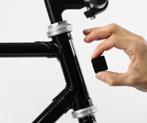 Lucetta Magnetic Bike Lights by Pizzolorusso