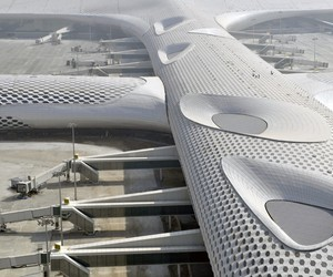 Terminal 3 at Shenzhen Bao'an Airport by Fuksas