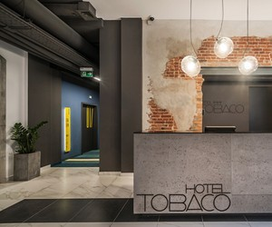 Tobaco Hotel in Łódź, Poland by EC-5