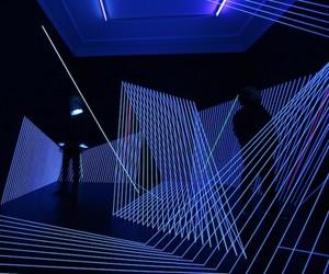 Puls UV light installation by Jeongmoon Choi