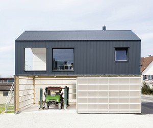 House Unimog by Fabian Evers + Wezel Architektur