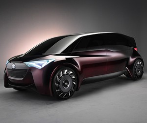 Toyota Fine-Comfort Ride Hydrogen-Powered Concept