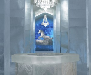 "ICEHOTEL Main Hall ""Secret Garden"""