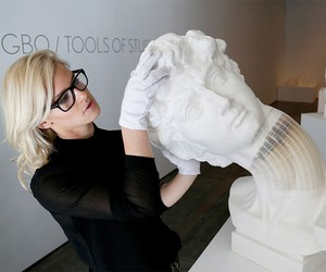 Fexible Paper Sculptures by Li Hongbo