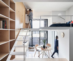 33 SQM Flat in Taipei by Phoebe SaysWow Architects
