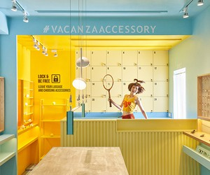 VACANZA Accessory Shop in Taipei by 45tilt