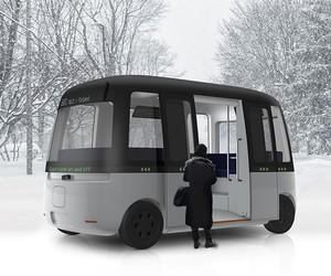 Gacha Autonomous Shuttle Bus / MUJI + Sensible 4