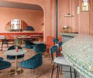 Omar's Place Restaurant in London by Sella Concept