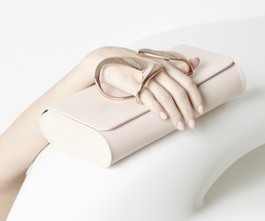 Perrin Paris x Zaha Hadid Clutch Collection