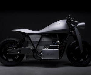 Etech Electric Motorcycle