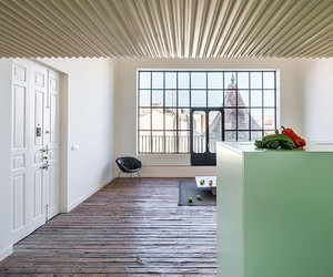 Langarita-Navarro Renovates Penthouse H in Madrid