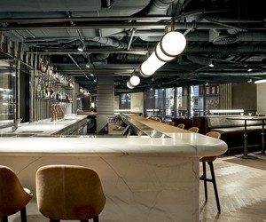 Wyers Restaurant & Bar by Studio Modijefsky