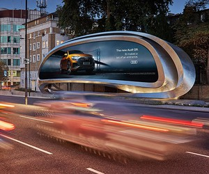 Zaha Hadid's Billboard for JCDecaux, West London