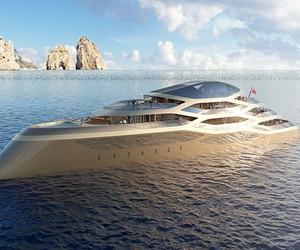 Benetti's Se77antasette Superyacht Concept