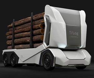 Einride's Autonomous All-electric Logging Truck