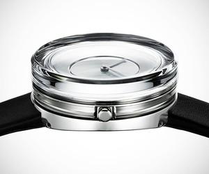 Issey Miyake x Tokujin Yoshioka Glass Watch