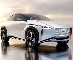 Nissan All-Electric Crossover IMx