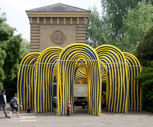 Pump House Pavilion by NEON, London