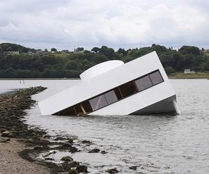 Artist Sinks Le Corbusier's Villa Savoye